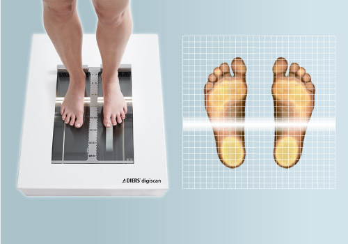 DIERS digiscan: Foot Scanner + Podoscope
