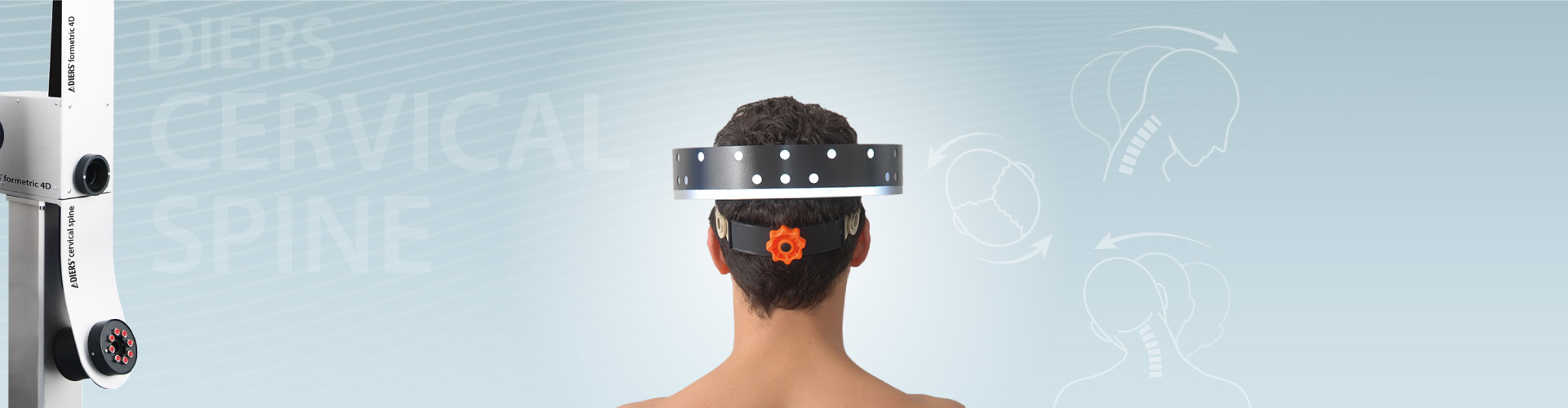 DIERS cervical spine: 3D-Recording of the Cervical Spine (Range of Motion)