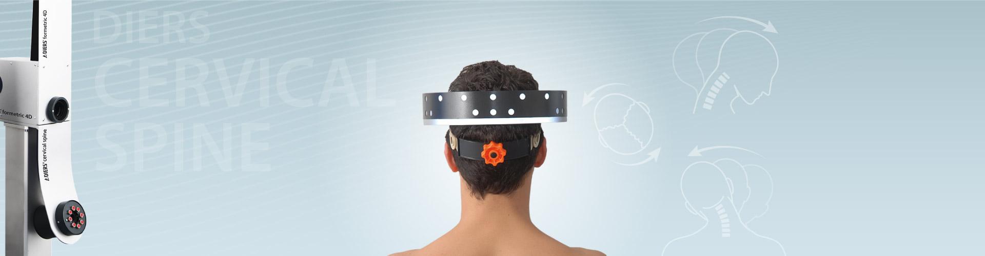 DIERS cervical spine: 3D-Recording of the Cervical Spine (Range of Motion)