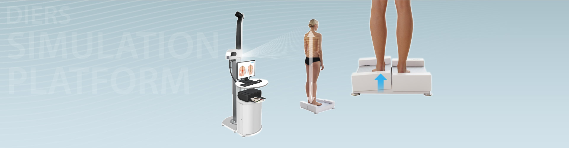 DIERS simulation platform: Evaluation of Leg Length Differences