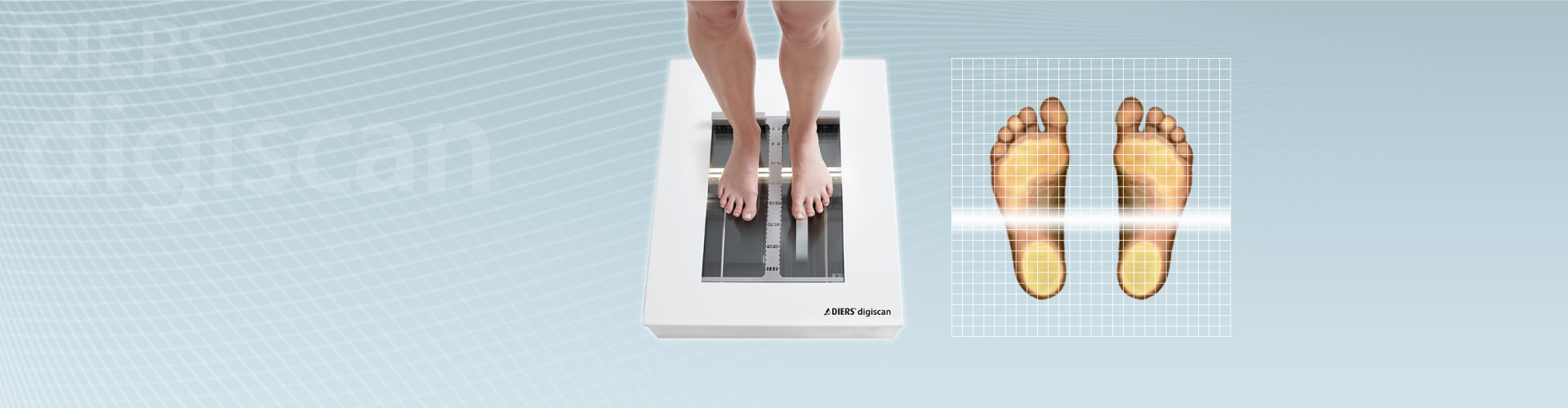 DIERS dgiscan: Foot Scanner + Podoscope