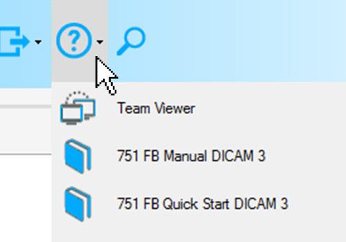 DICAM 3: help functions