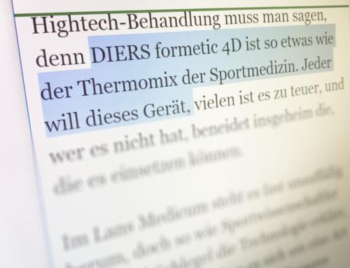 Thermomix und Raumschiff Enterprise – DIERS und LANS Medicum im Hamburger Abendblatt