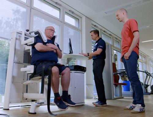 """DIERS myoline im NDR: """"Die Bewegungs-Docs: Rückenschmerzen (Folge 11)"""""""